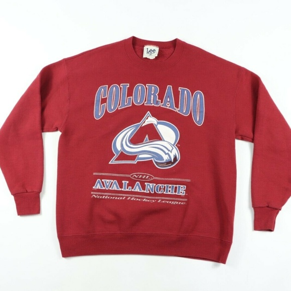 Lee Sport Other - Vintage Colorado Avalanche Spell Out Sweater Large